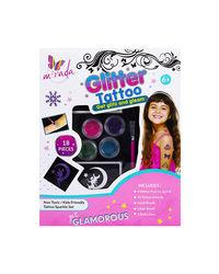 Mirada Diy Glitter Tattoo Glitz & Glam, Age 6+