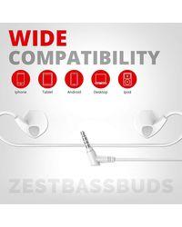 Pebble Handsfree Earphones - Heavy Bass