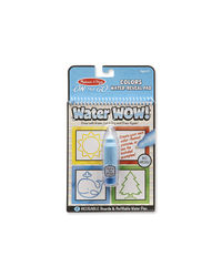 Melissa And Doug Water Wow! Colors Water Reveal Pad, Age 3