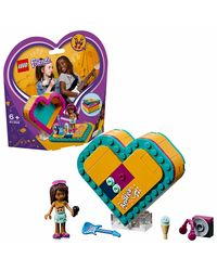 LEGO Friends Andrea's Heart Box Building Blocks for Girls (84 Pcs) 41354