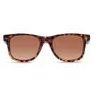 ELITE S18C4383 Brown Polarized RetroSquare Sunglasses