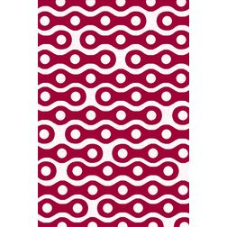 Floor Carpet and Rugs Hand Tufted, AC Concept Geometric Pink Carpets Online - ACR (10) -L, pink, 3ftx5ft