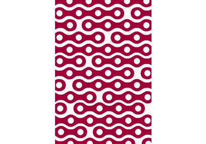 Floor Carpet and Rugs Hand Tufted, AC Concept Geometric Pink Carpets Online - ACR (10) -L, 3ftx5ft, pink