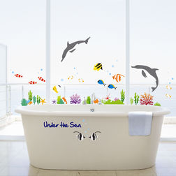 Wall Sticker For Kids TC Under the Sea DK0036