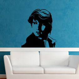 Kakshyaachitra Tom Cruise Wall Stickers For Bedroom And Living Room, 48 52 inches