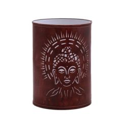 Aasra Decor Holy Budha Night Lamp Lighting Night Lamps, brown