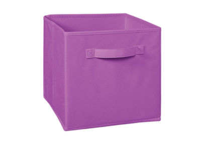 Storage Cube Box,  mauve cube