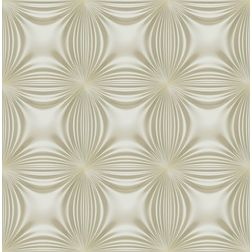 Elementto Floral Design Modern 3D Wallpaper for Walls - td32601, beige