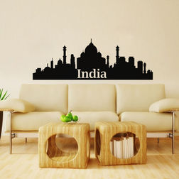 Kakshyaachitra India Wall Stickers For Bedroom And Living Room, 70 24 inches