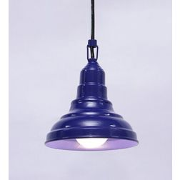 Aasra Decor Blue Cone Pendant Lamp Lighting Ceiling, blue