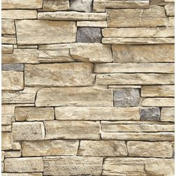 Elementto Brick Design Modern 3D Wallpaper for Walls - td32002, brown