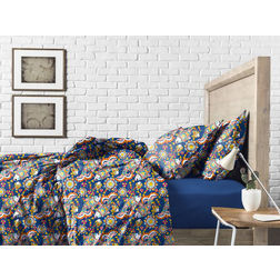 Bed in a bag BB15, double, royal blue