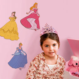 Kids Wall Stickers Decofun Princess 3 Foam Element - 23612
