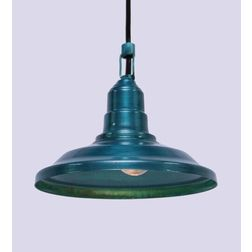 Aasra Decor Green Cloche Pendant Lamp Lighting Ceiling, green