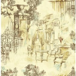 Elementto Wallpapers Garden Decor Design Home Wallpaper For Walls ew70804, cream