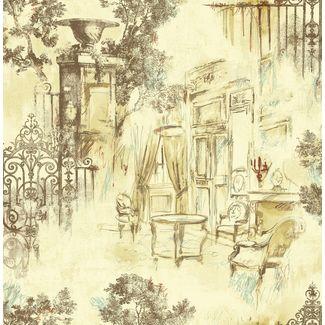 Elementto Wallpapers Garden Decor Design Home Wallpaper For Walls Ew70804-1, cream