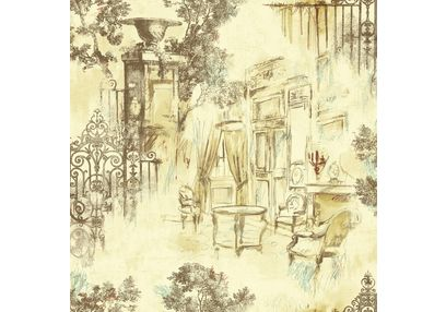 Elementto Wallpapers Garden Decor Design Home Wallpaper For Walls Ew70804-1, beige