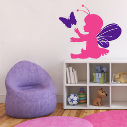 Wall Stickers For Kids Chipakk Lil Fairy Pink FA3AS