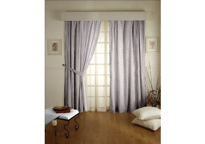 Tiara Abstract Readymade Curtain - 10, door, beige
