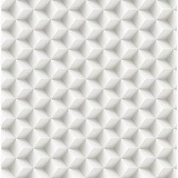 Elementto Geometric Design Modern 3D Wallpaper for Walls - td30600, white