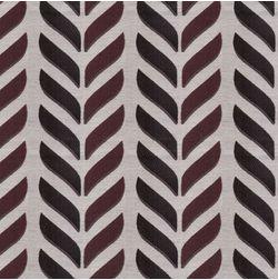 Shashank Geometric Curtain Fabric - 31, red, fabric