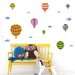 Kids Wall Sticker Design Hot Air Balloons WD015