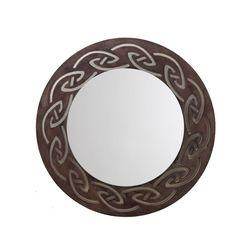 Aasra Decor Tribal Mirror Decor Wall Mirror, brown