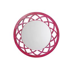 Aasra Decor Anise Mirror Decor Wall Mirror, pink