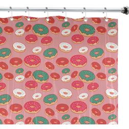 Shower Curtain, coral