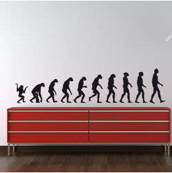 KakshyaaChitra Evolution Wall Stickers