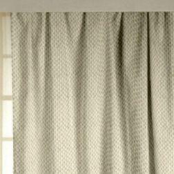 Lusture Geometric Readymade Curtain - RHO103, beige, door