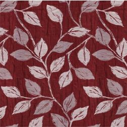 Ramkhao Floral Curtain Fabric - 7, red, fabric