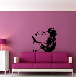 Kakshyaachitra Madonna Wall Stickers For Bedroom And Living Room, 48 48 inches