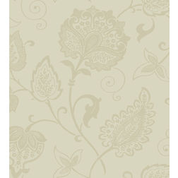 Elementto Wallpapers Floral Design Home Wallpaper For Walls, light brown