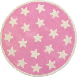 Floor Carpet and Rugs Hand Tufted, AC Concept Kids Pink Carpets Online - KD-09-L, 3ftx5ft, pink