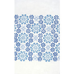 Floor Carpet and Rugs Hand Tufted, The Rug Concept White Carpets Online Tbilisi 6087-L, white, 3ft x 5ft