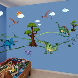 Children Wall Sticker Design Dinosaur Days WD004