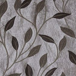Roseberry Floral Curtain Fabric - 21, sample, grey