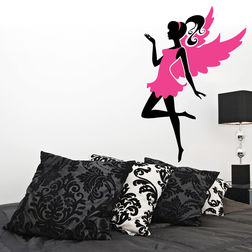 Children Wall Stickers Chipakk Classy Fairy Pink FA5AM