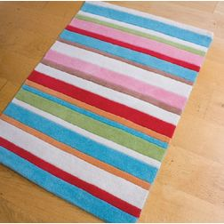 Floor Carpet and Rugs Hand Tufted, AC Concept Geometric Pink Carpets Online -B1-04-L, 3ftx5ft, pink