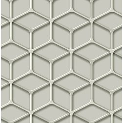Elementto Geometric Design Modern 3D Wallpaper for Walls - td30800, green