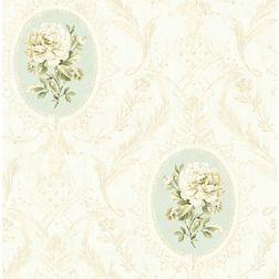 Elementto Wallpapers Floral Design Home Wallpaper For Walls, lt  blue