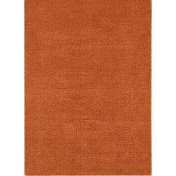 Floor Carpet and Rugs Hand Tufted, AC Concept Solid Orange Carpets Online -B3-05-L, 3ftx5ft, orange