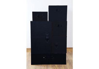 Wardrobe Style Storage Box Set, ST 131, wardrobe style storage box set