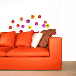 Wall Stickers Home Decor Line Gerberas - 42002