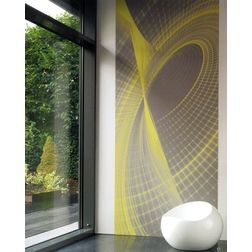 Elementto Mural Wallpapers Abstact Mural Design Wall Murals SOW 2163-71-24-2mural, yellow