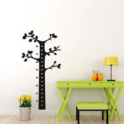Kakshyaachitra Scale tree Kids Wall Stickers, 12 24 inches