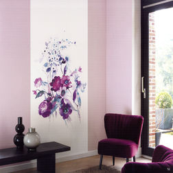 Elementto Mural Wallpapers Floral Mural Design Wall Murals 22264128_ 1429537977_ 1110mural, dark pink