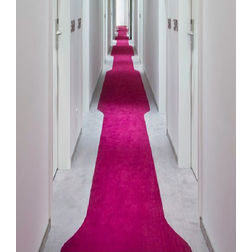 Floor Carpet and Rugs Hand Tufted AC Concept Solid Pink Carpets Online - CRD-45-L, 3ftx5ft, pink