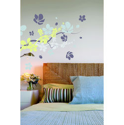 Wall Stickers Home Decor Line Flowers & Branches - 57113